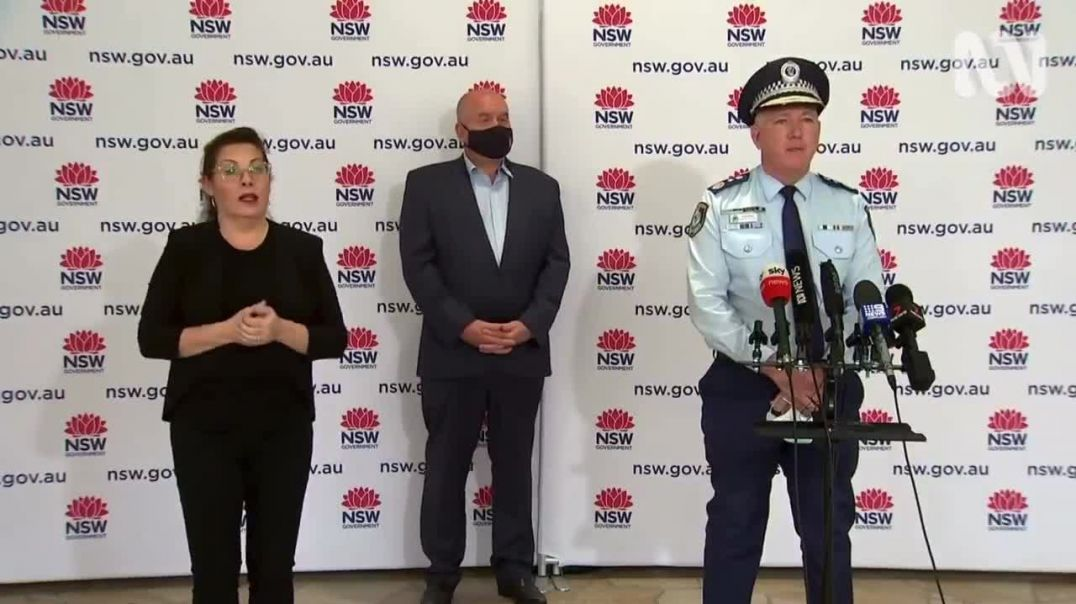 """Someone shouts """"Nuremberg 2.0"""" as yet another Aussie covid press conference begins"""