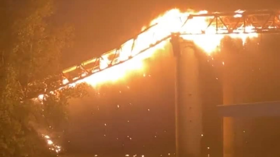 What happen when electrical grids under ATTACK it burns
