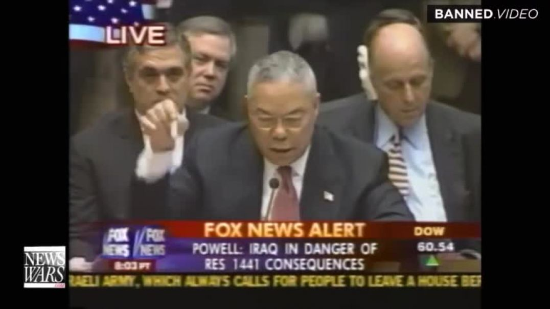 Colin Powell Dies Of COVID Bioweapon After Pushing Fake Anthrax Bioweapon For Iraq War