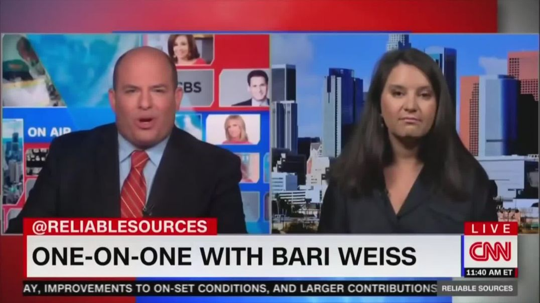 Mark Dice - Brian Stelter Humiliated By Guest On His Own Show