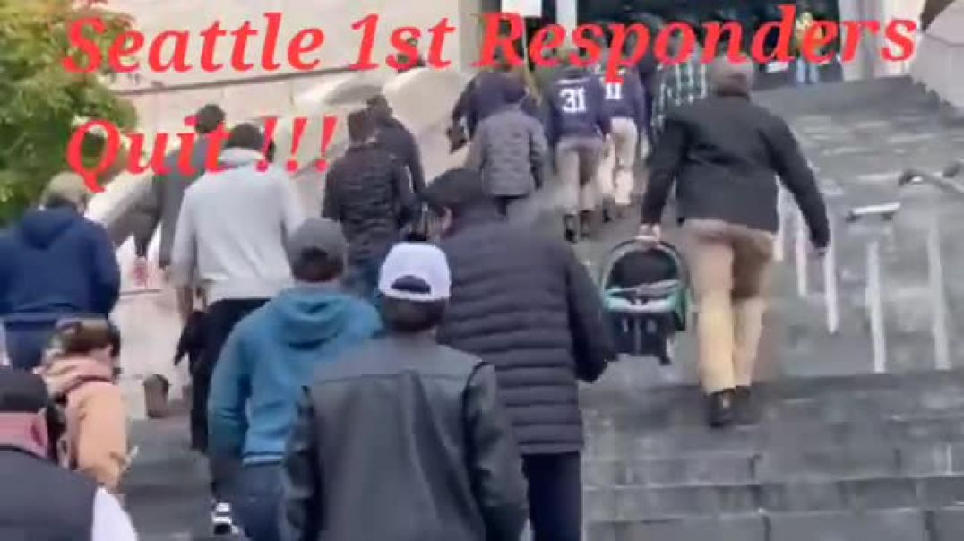1st Responders in Seattle Literally Give Boots Back To City