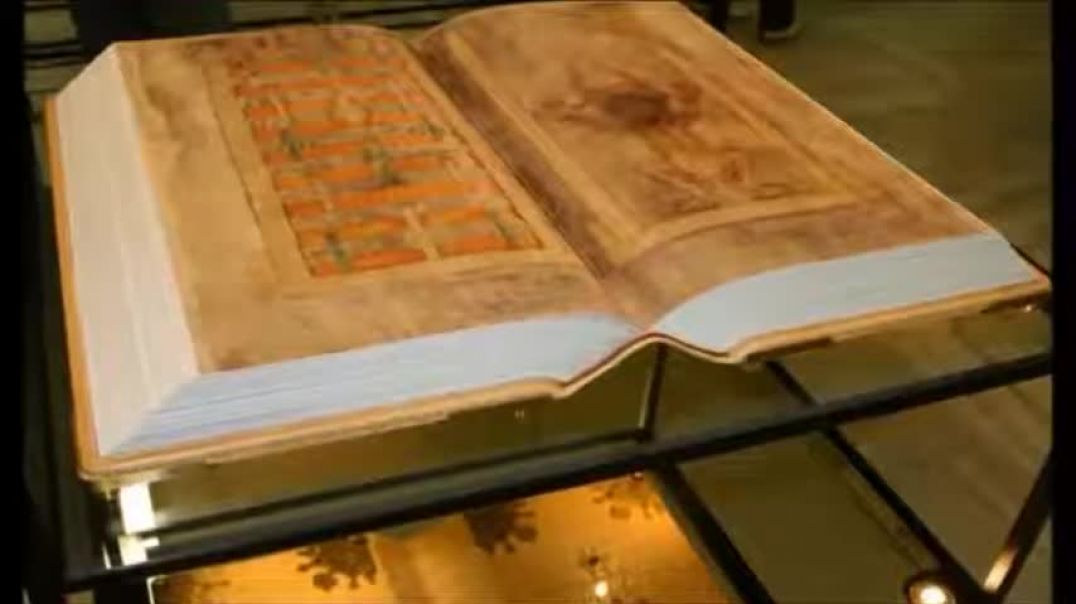 The Codex Gigas  - Story of the Devils Bible, he has to copy God.
