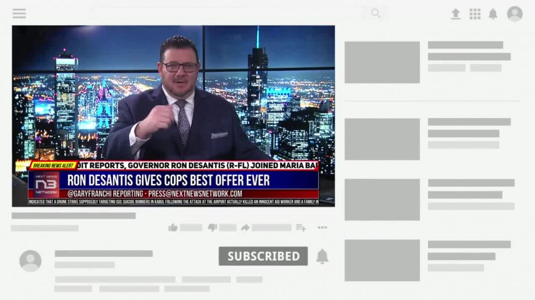 Ron DeSantis Gives Cops In Liberal State Best Offer Ever