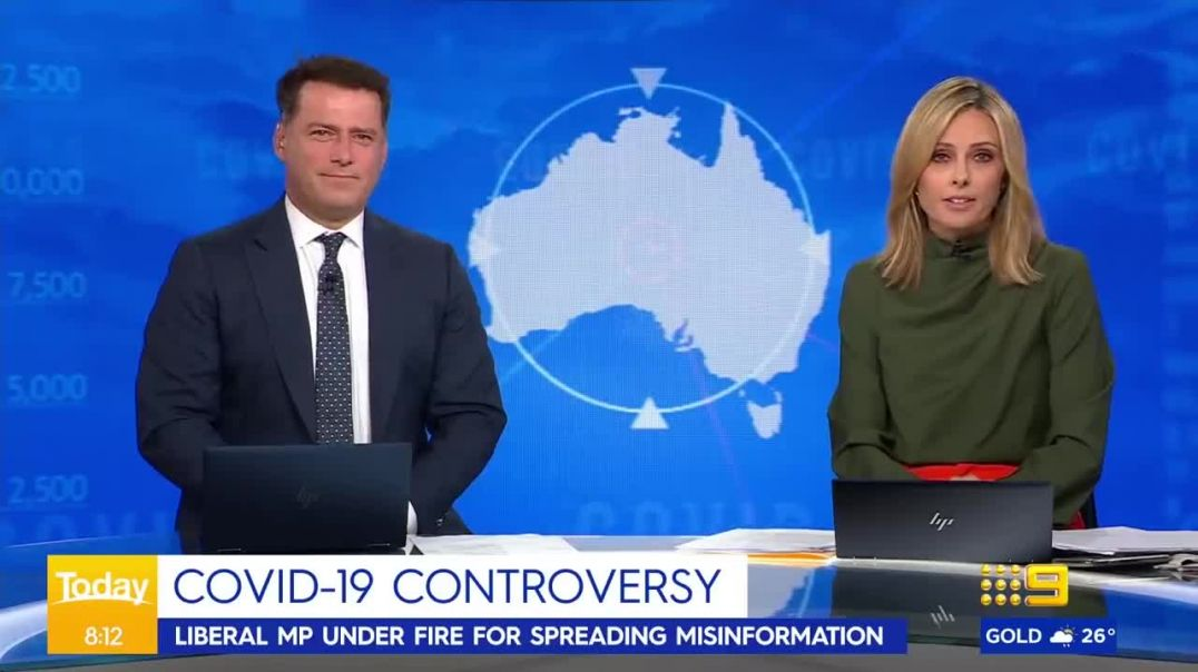 MP Craig Kelly clashes with Ally over COVID-19 claims | Today Show Australia(720p)