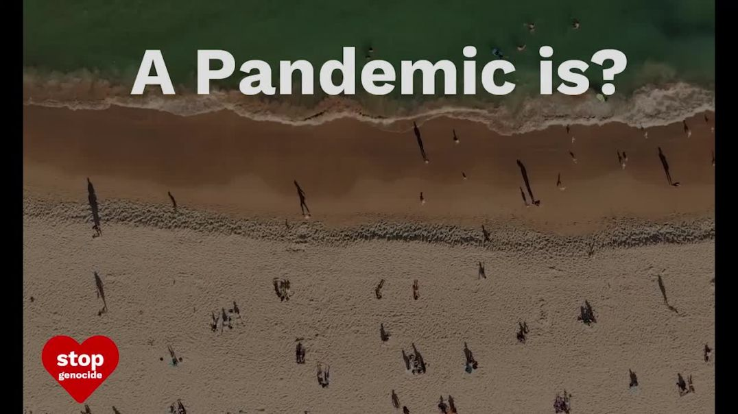 Pandemic - they changed the definition