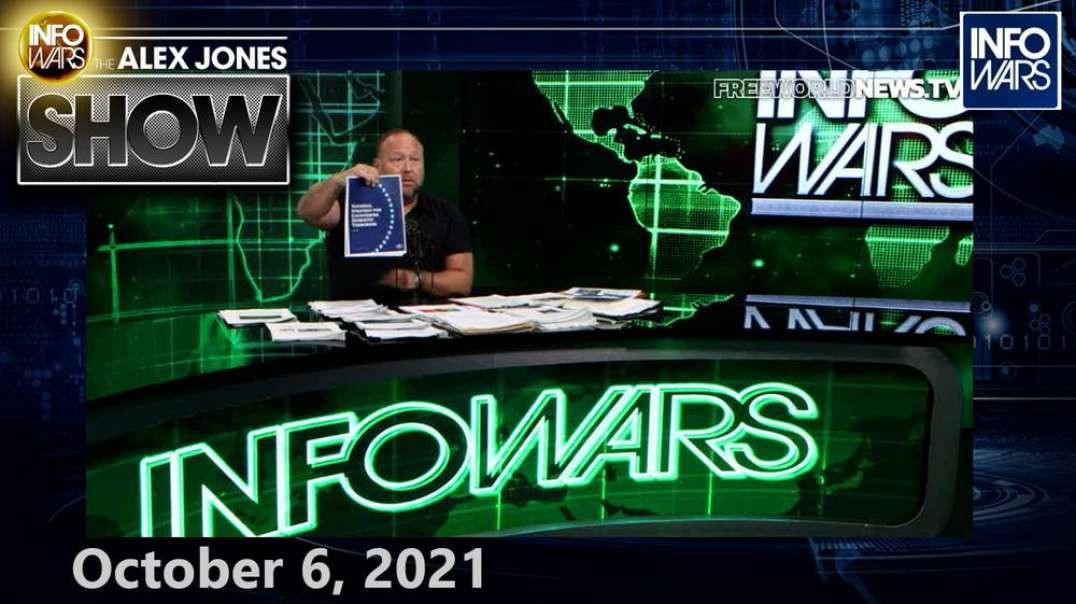 America Awakens To The Fact The Democrat Party Works For An Outside Enemy Force – FULL SHOW 10/6/21