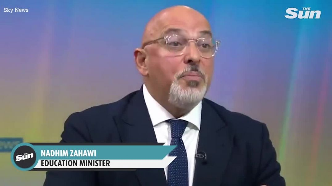 Turd Zahawi still pushing for FACE MASKS in schools even though he is NOT Vaccines minister now