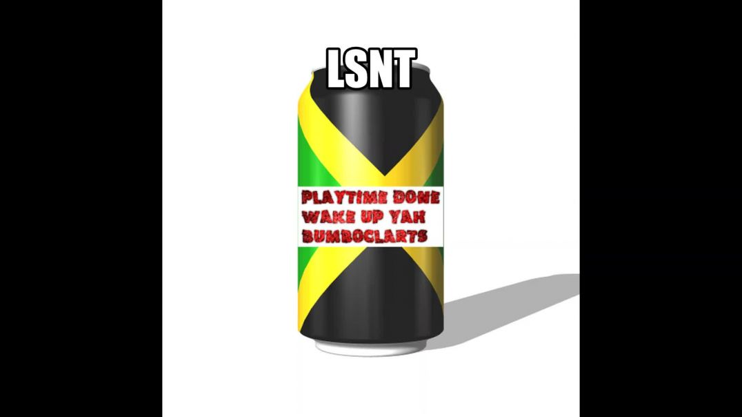 A Message from Jamaica for the people on the ISLAND. PLAYTIME DONE TIME FE STAND UP