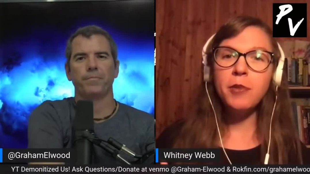 """Commie """"Truther"""" Whitney Webb: They Are Going After the Left"""