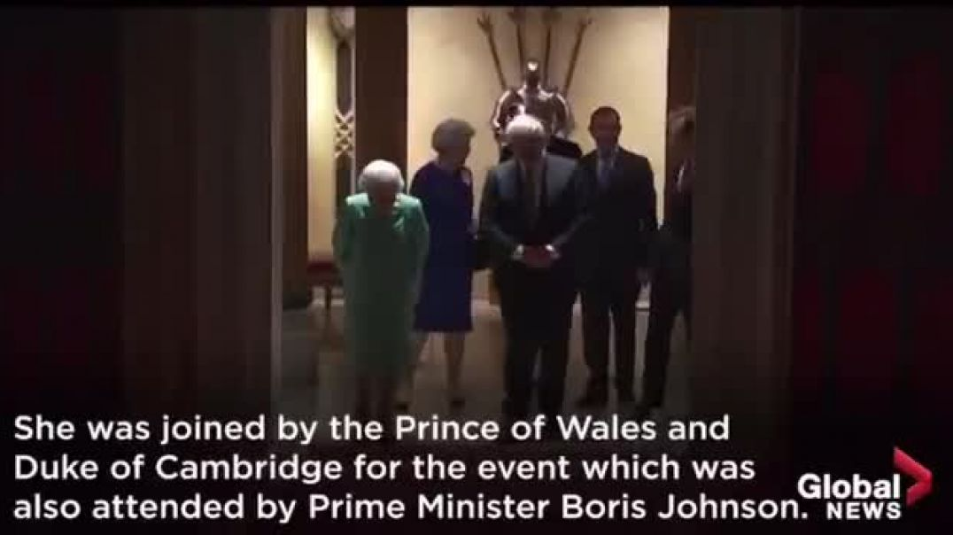 Queen, Boris, Bill Gates They are terrified. You can see the fear behind their masks.
