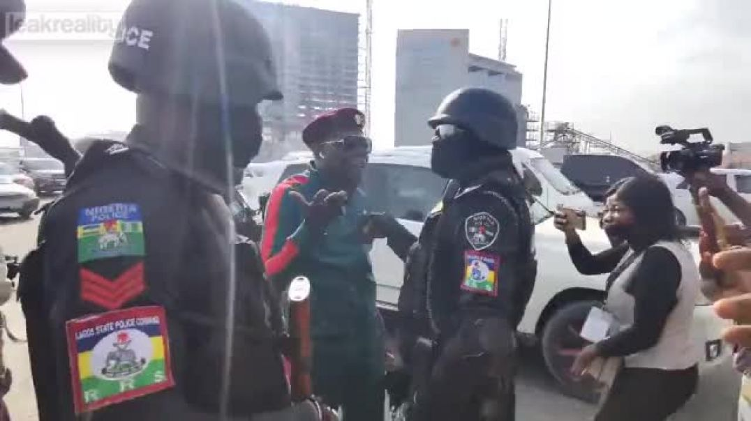 Nigerian Arrested On live TV for criticizing the Gov. - COPS GONE WILD