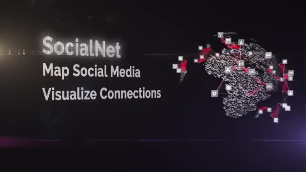 SOCIALNET OVERVIEW: MAP SOCIAL MEDIA CONNECTIONS IN REAL TIME