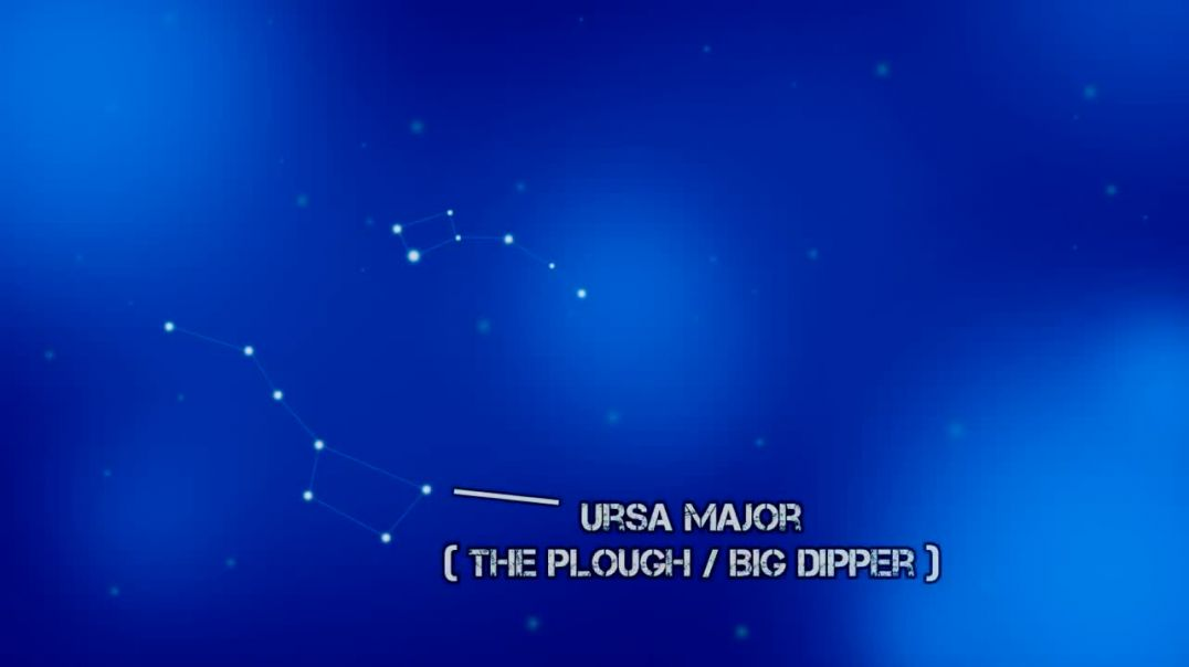 Find North using the Stars - Ursa Major; Polaris - Navigation without a Compass