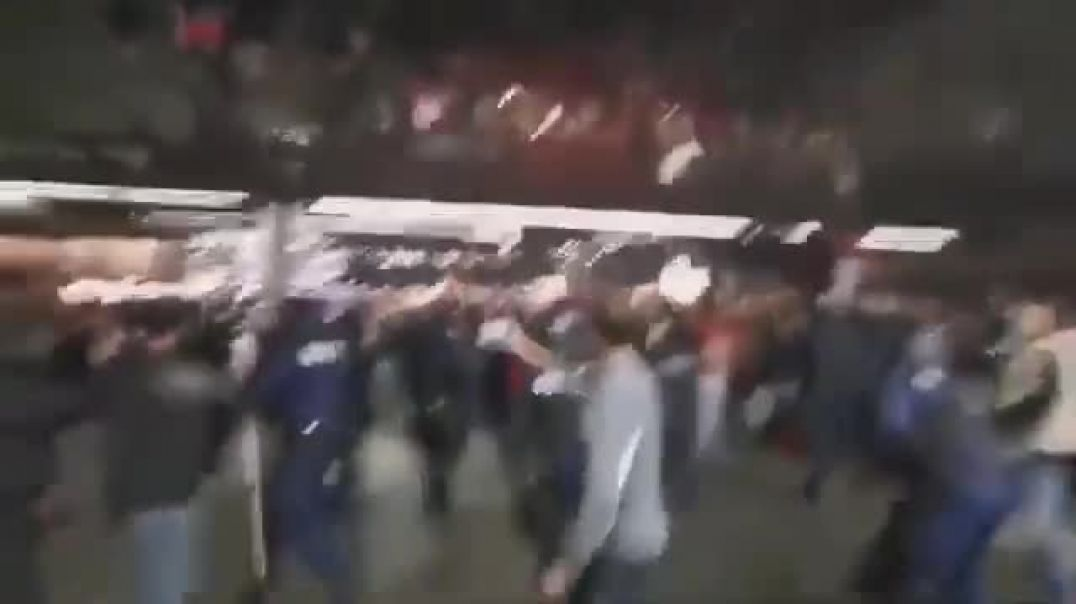Switzerland - Protesters vs Police get Physical!