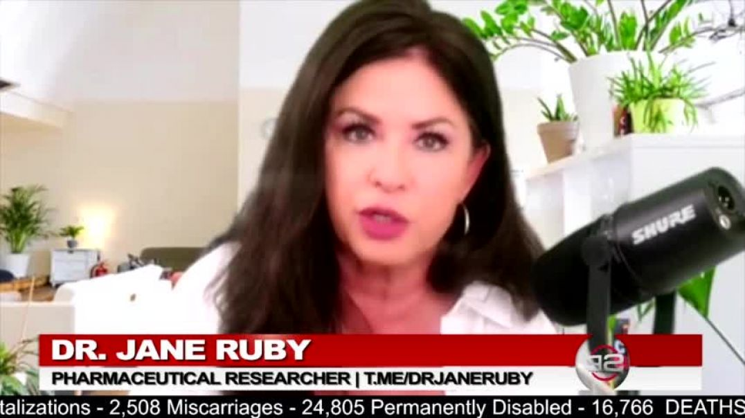 Dr. Jane Ruby | COVID Nasal Swabs Examined by Scientists Reveal DANGER