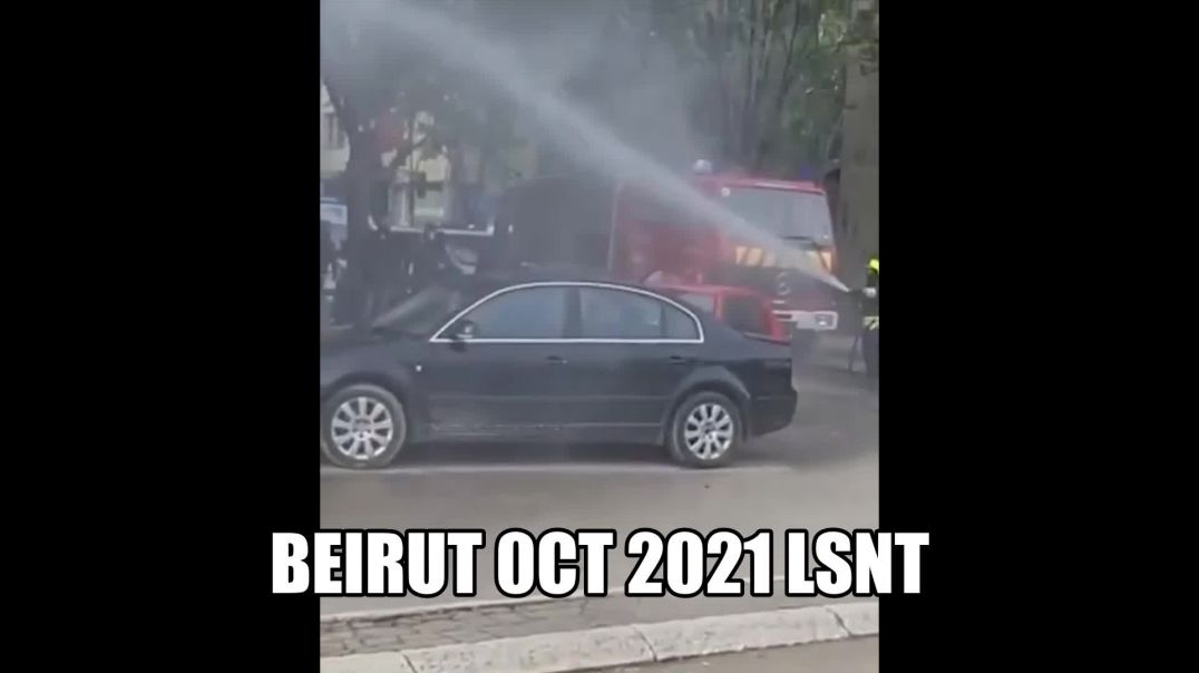 BEIRUT IS AT WAR EVERYTHING IS COLLAPSING THE MONEY IS ALSO WORTH NOTHING!