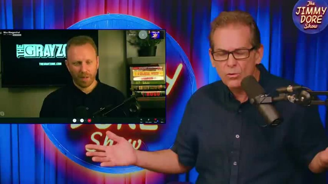 Fauci Has No Answer--Why Vaxx People With Natural Immunity? #TheJimmyDoreShow (w/Max Blumenthall)