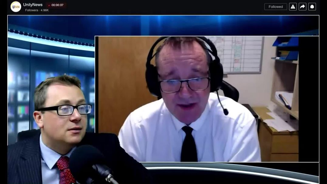 UNN's David Clews speak with John O'Looney ****Please share this video*********