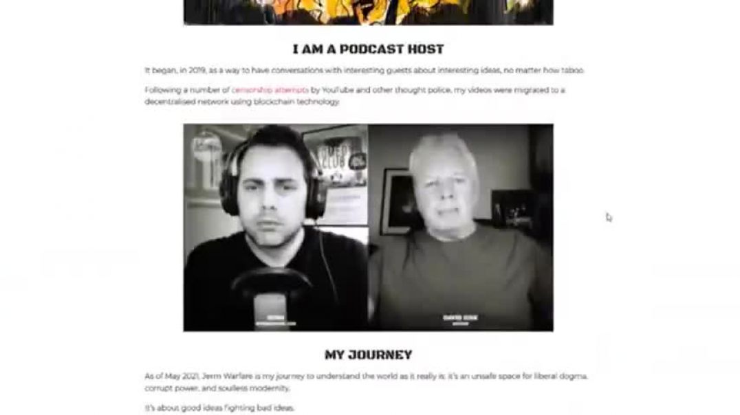 JEREMY NELL: ON PODCASTING, CENSORSHIP, CONSPIRACIES, & THE GREAT RESET.. jerm warfare