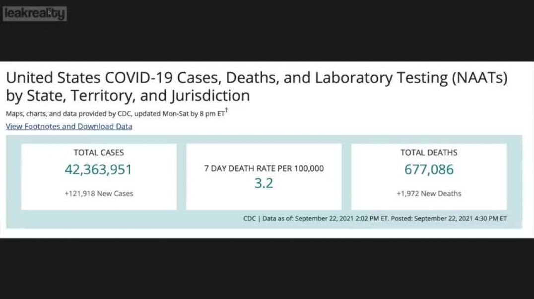 The CDC Numbers Game: Covid Statistical Manipulation - Mr. E..... BACK