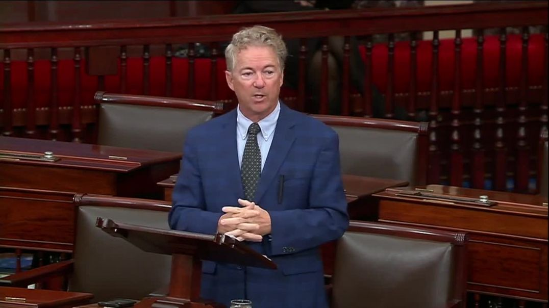 Rand Paul EXPOSES Democrats For Opposing Funding For Iron Dome
