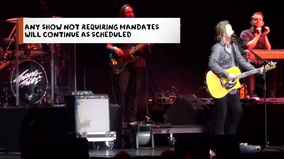 Travis Tritt Speaks Out On Mask Mandates At His Shows, Cancels Gigs With Mandates Of Any Kind