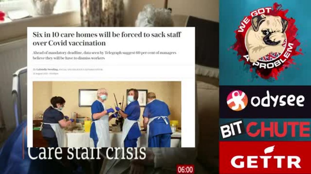 BBC Breakfast With We Got A Problem #16 Care Home Staff Shortages... I wonder Why
