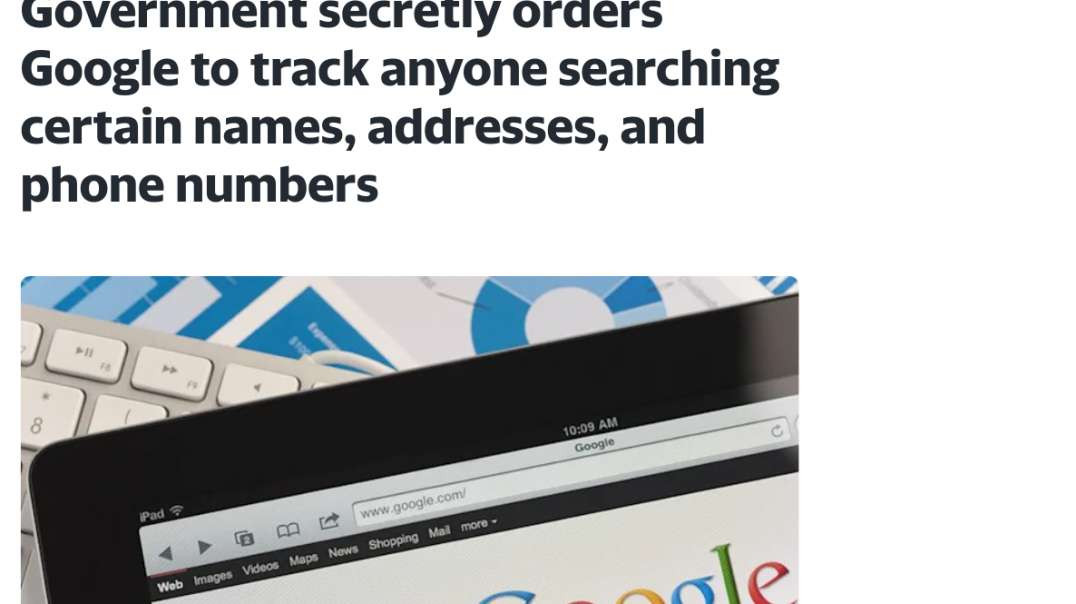 Fake FB Whistleblower, False Flags, Govt Monitors Search Terms With Google
