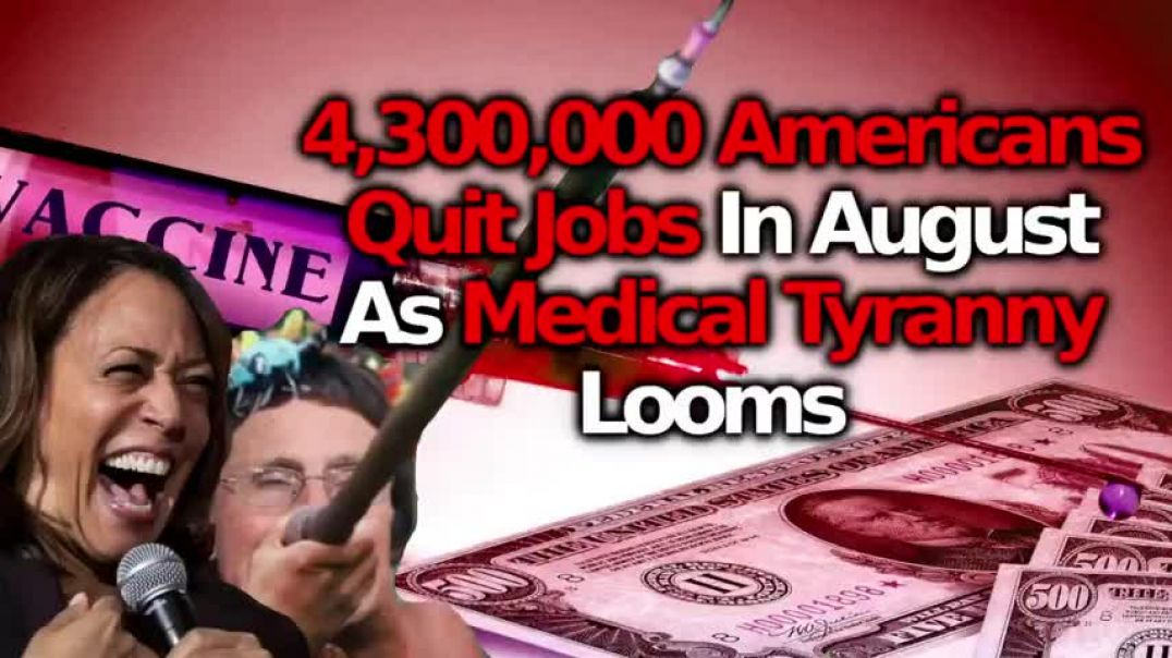 4.3 MILLION AMERICANS QUIT RATHER THAN SUBMIT TO COERCED INJECTIONS, US MORTALITY UP 38%, ITALY