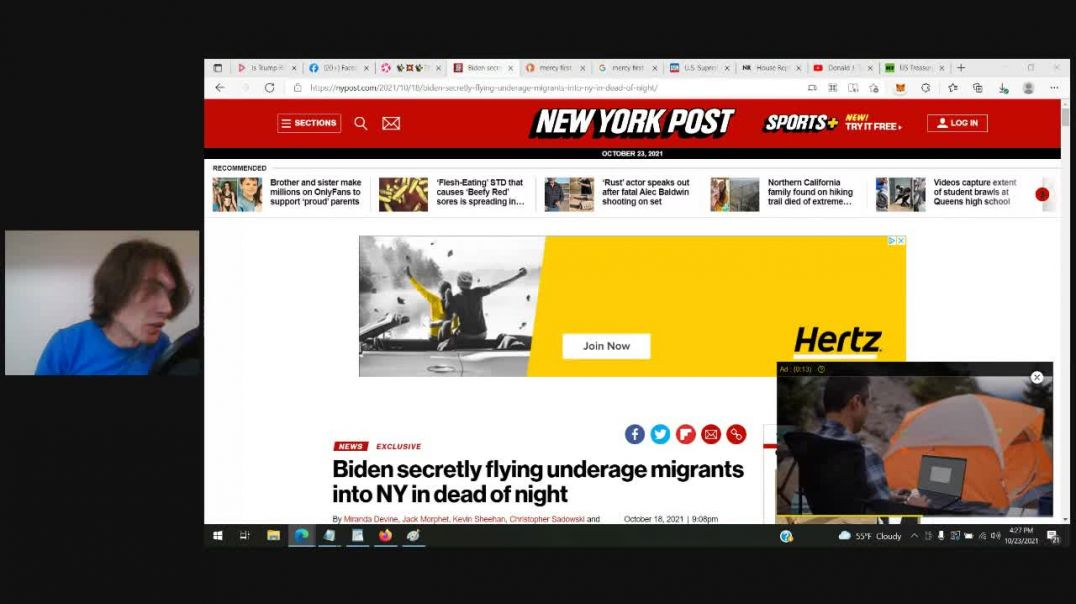 Biden secretly flying underage migrants into NY in dead of night to MercyFirst catholic foster care