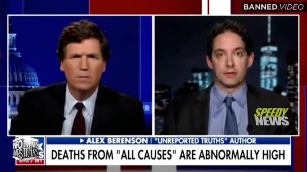 Tucker Carlson Exposes Jump in Deaths from 'All Causes' as COVID Injection Spreads