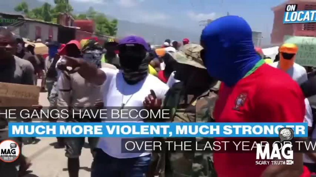 MAG TRUTH - SIXTEEN AMERICANS GOT KIDNAPPED IN HAITI