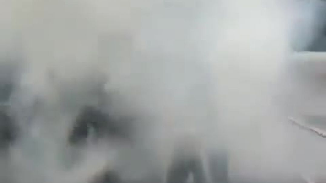 indigenous protesters clash with police in Chile