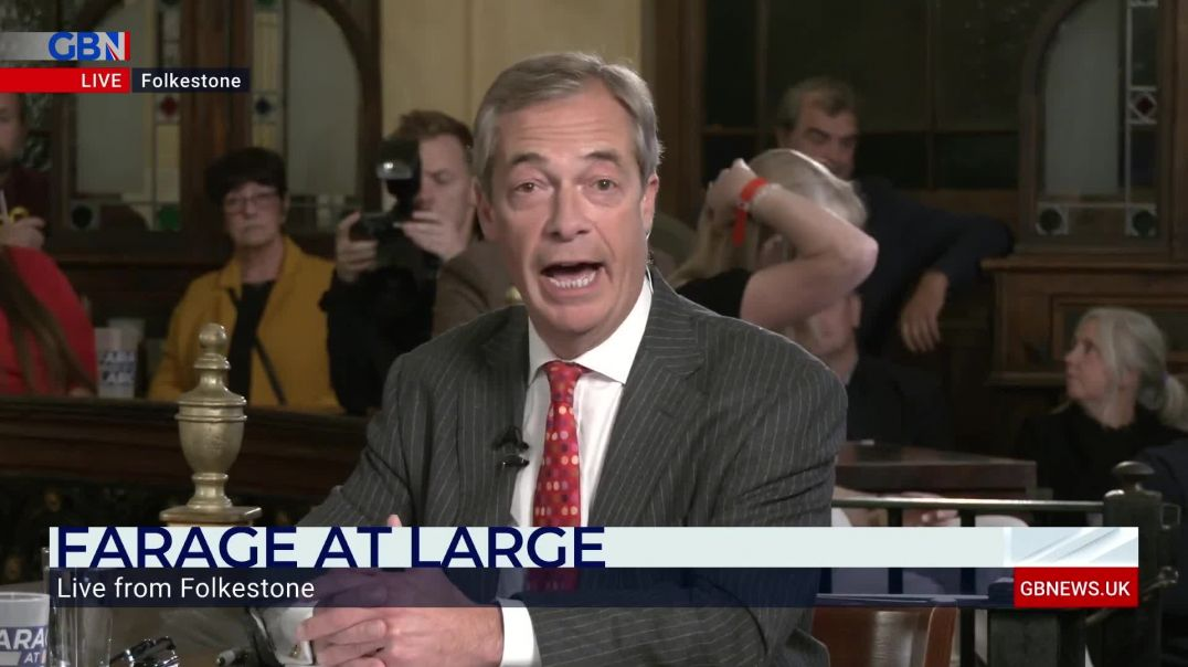 Nigel Farage: 'I will not be showing any vaccine passport to go and buy a pint.