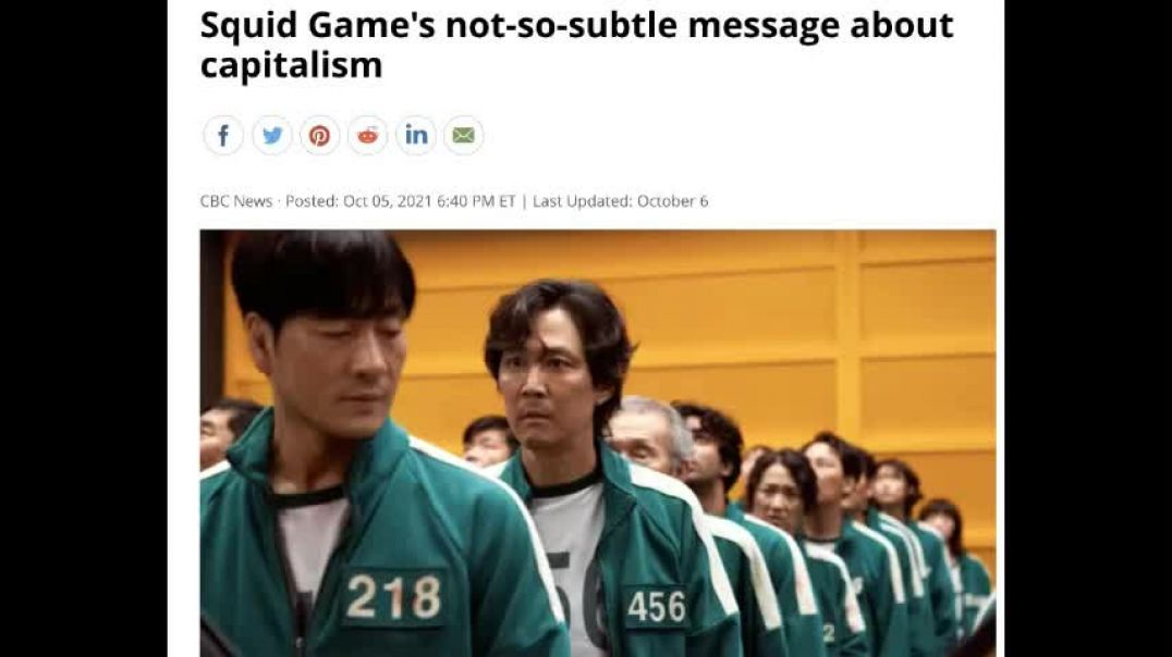 The Real Dystopian Meaning Behind the Squid Game
