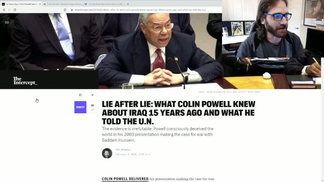 Fully Vaxxed Colin Powell Dies of Coof Complications - SALTY CRACKER