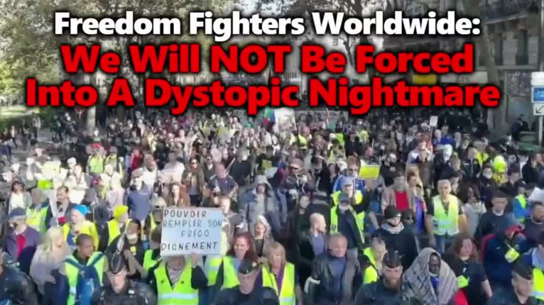 NO FORCED VACCINES!  WORLDWIDE PROTESTS WITH HUGE RALLIES ACROSS ITALY, FRANCE & NYC. TIM TRUTH