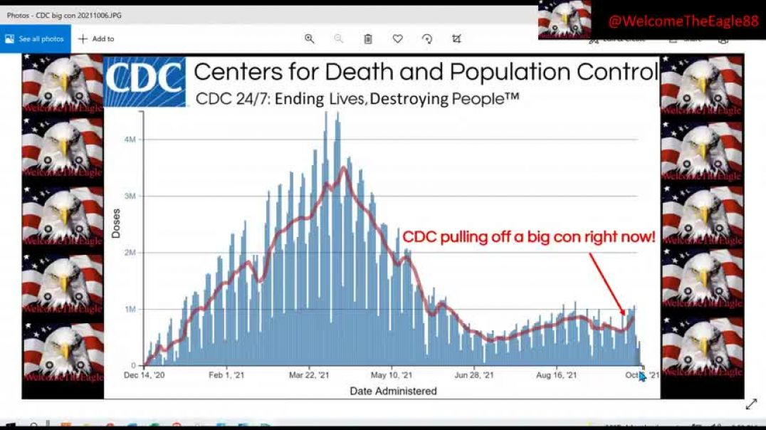 BOMBSHELL!  CDC is pulling off the biggest con right in front of your eyes!