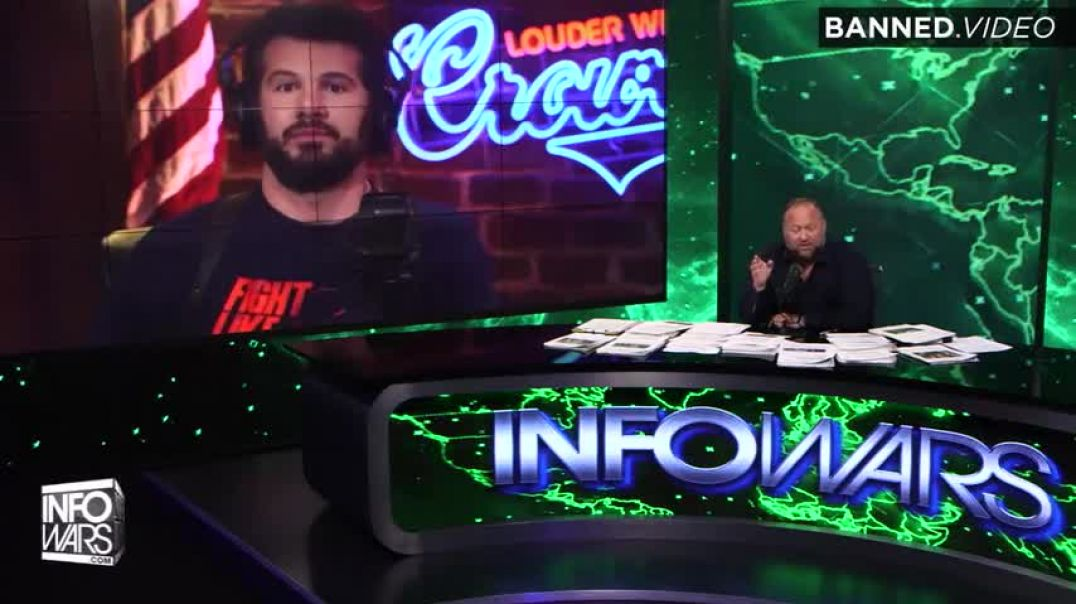 Steven Crowder Joins Infowars To Discuss His Suspension From YouTube, Travis Tritt, And More