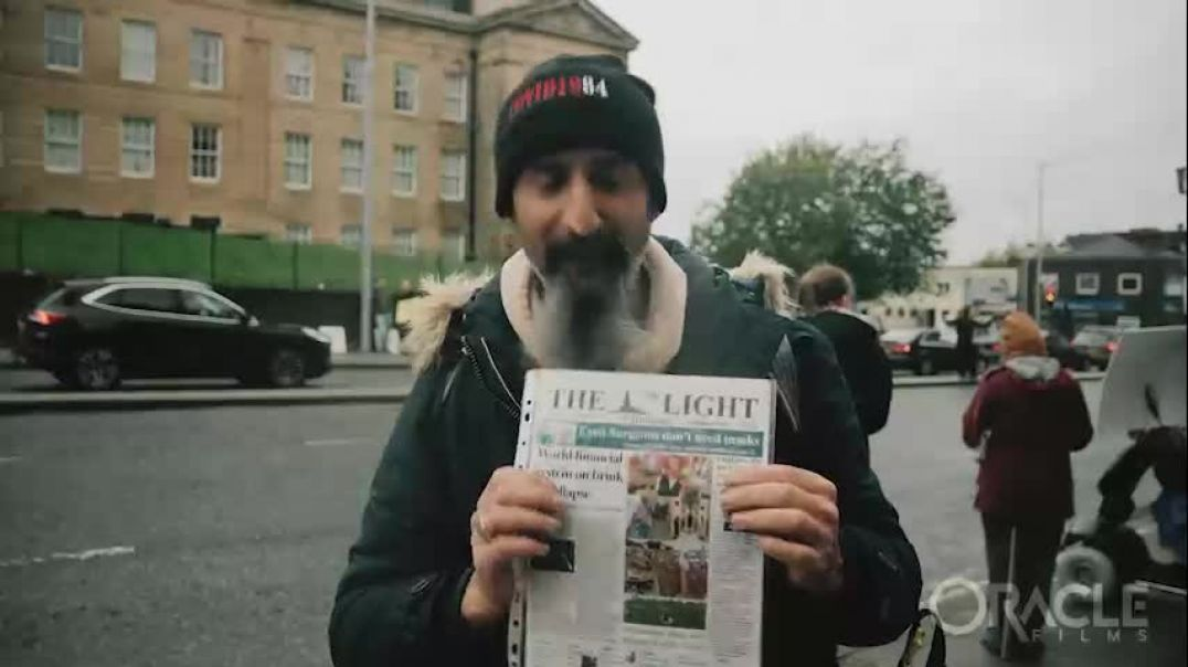 interview with Darren at The Light Paper