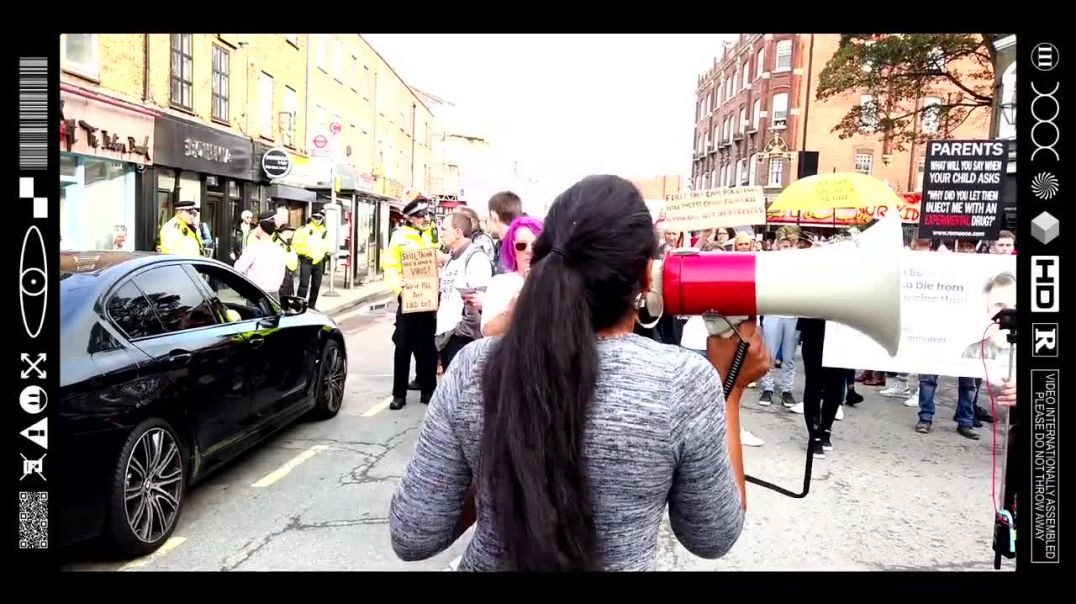 (EMB) WORD ON THE CURB - PEOPLE FOR THE PEOPLE - WEST LONDON OUTREACH - FULL CLIP! (16/10/21)
