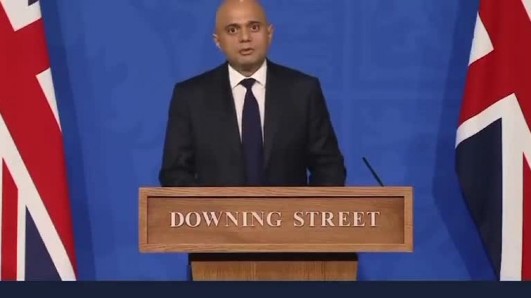 'Get a booster to keep your freedoms' Sajid Javid