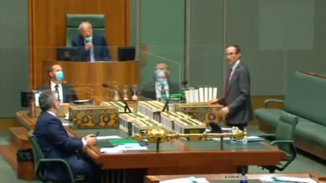 Craig Kelly MP gets shut down for mentioning Ivermectin in Parliament, his response is EPIC!