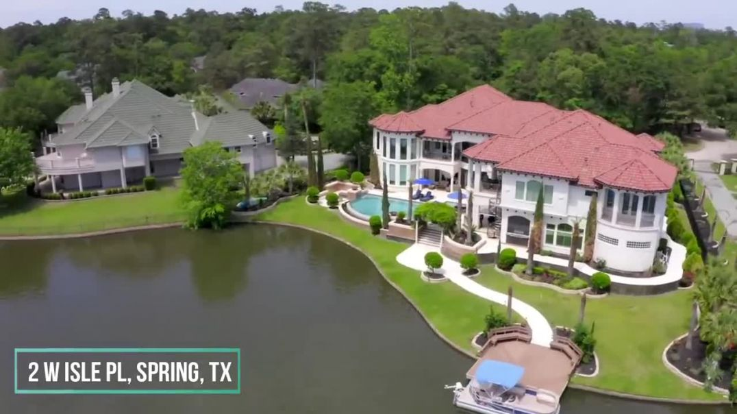This $8,950,000 Luxurious Home in Texas comes with Fantastic Water ViewsThis $8,950,000 Luxurious Ho