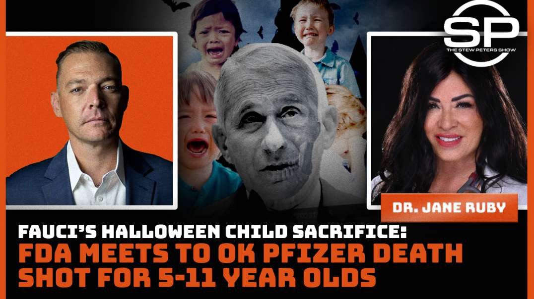 ARREST FAUCI - The Devils Halloween Child Sacrifice aimed at 5 to 6 year olds  by the DEATH SHOT!