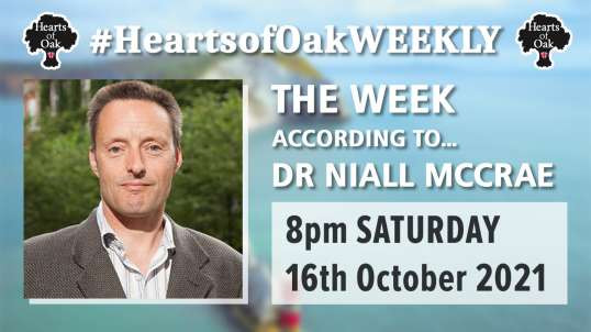The week according to Dr Niall McCrae