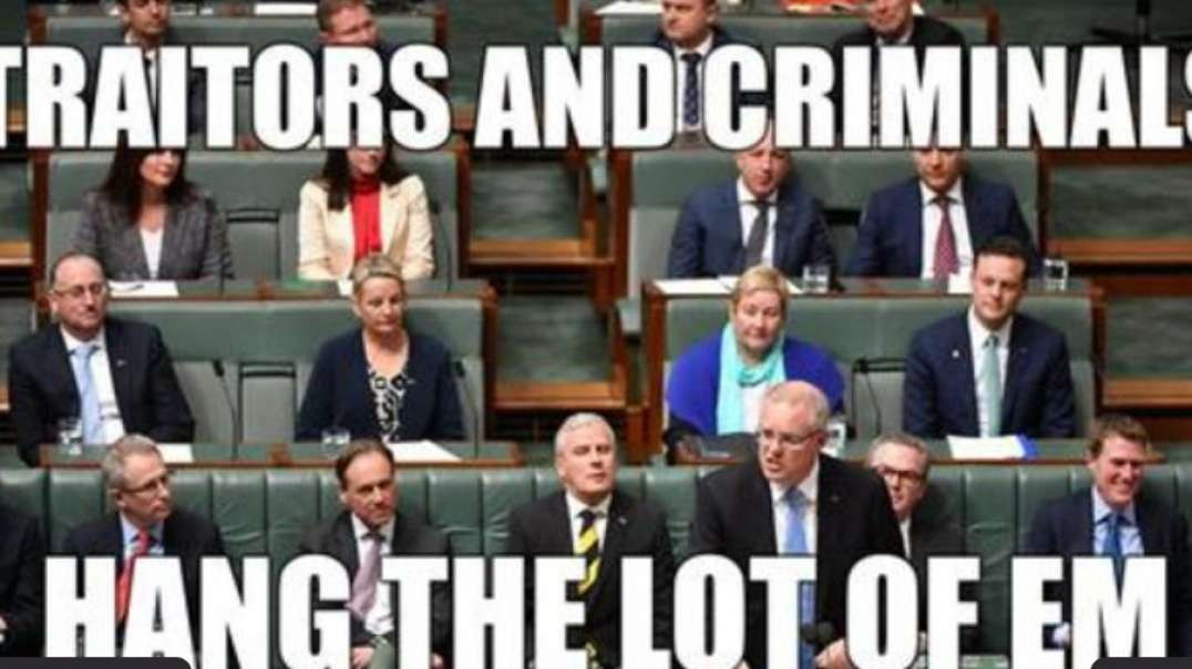 THE ENTIRE AUSTRALIAN GOVERNMENT IS GUILTY OF TREASON