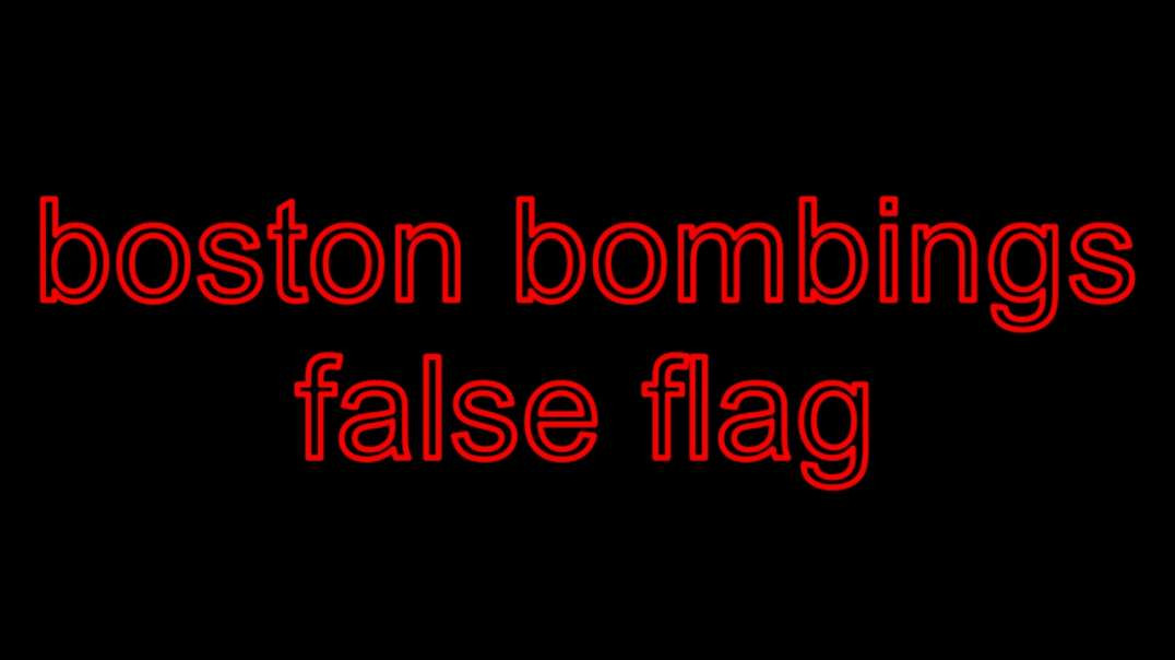 Boston bombings after watching this video and you still think covid-19 is real youre an idiot
