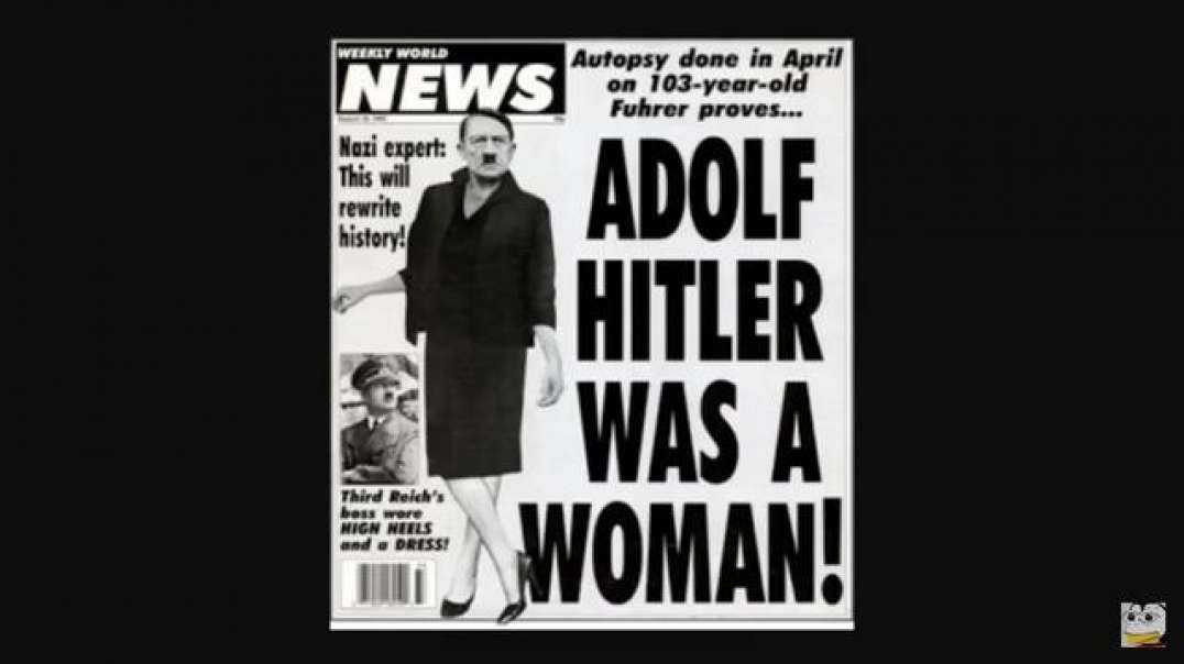 HITLER WAS A WOMAN Transvestigation of the Fuhrer
