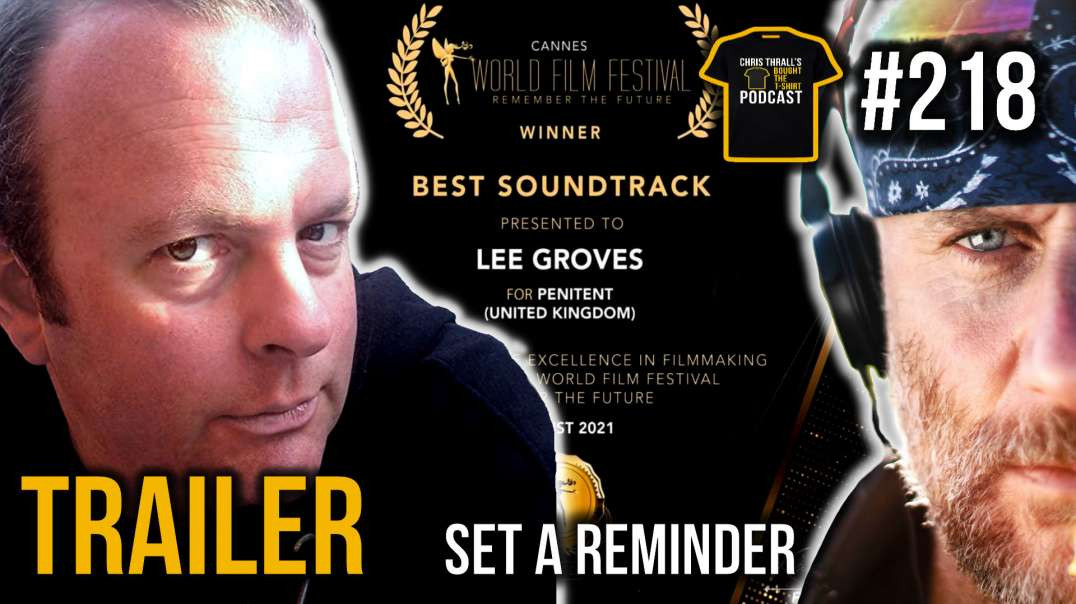TRAILER | Hollywood Music Mogul | Lee Groves | Bought The T-Shirt Podcast